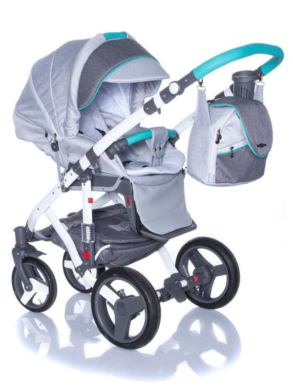 BeBe-mobile MOVO R9 (Mint-Grey)